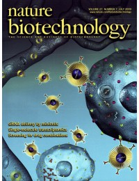 Cover art - Nature Biotechnology - 2009